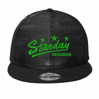 Starday Records Embroidered Hat Camo Snapback Designed By Madhatter