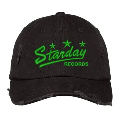 Starday Records Embroidered Hat Distressed Cap Designed By Madhatter