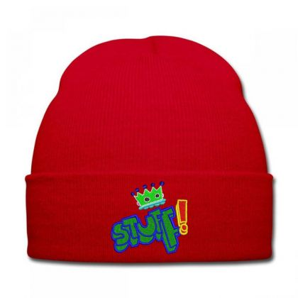 King Stuff Embroidered Hat Knit Cap Designed By Madhatter