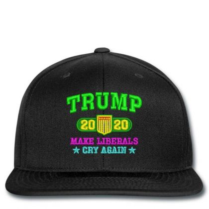 Trump 2020 Embroidered Hat Snapback Designed By Madhatter