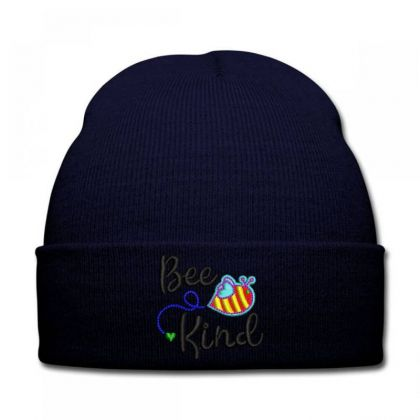 Bee King Embroidered Hat Knit Cap Designed By Madhatter