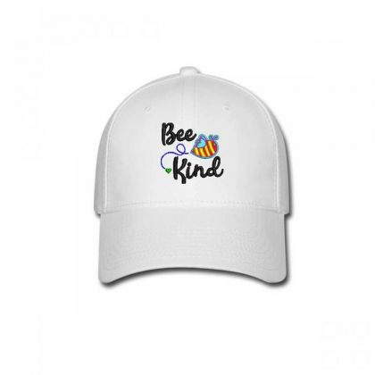 Bee King Embroidered Hat Baseball Cap Designed By Madhatter