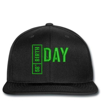 58 Birthday Embroidered Hat Snapback Designed By Madhatter