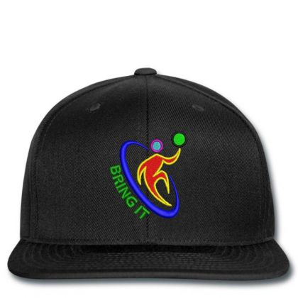 Bring It Embroidered Hat Snapback Designed By Madhatter