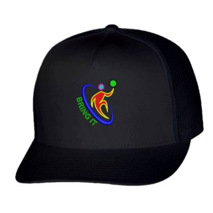 Bring It Embroidered Hat Trucker Cap Designed By Madhatter