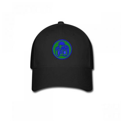 Camera Embroidered Hat Baseball Cap Designed By Madhatter