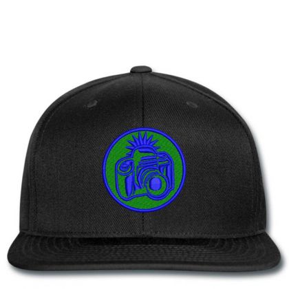 Camera Embroidered Hat Snapback Designed By Madhatter