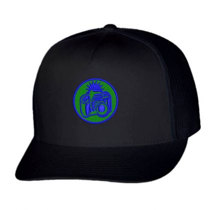 Camera Embroidered Hat Trucker Cap Designed By Madhatter