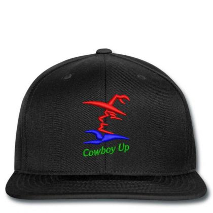 Cowboy Embroidered Hat Snapback Designed By Madhatter