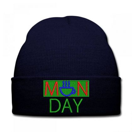 Manday Embroidered Hat Knit Cap Designed By Madhatter