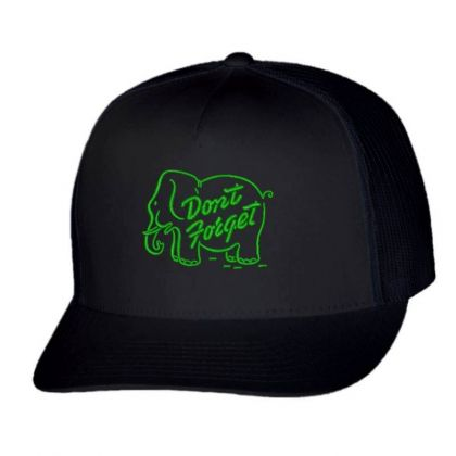 Don't Forget Embroidered Hat Trucker Cap Designed By Madhatter