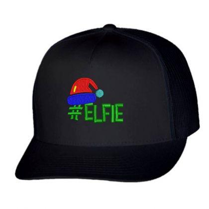 #elfie Embroidered Hat Trucker Cap Designed By Madhatter