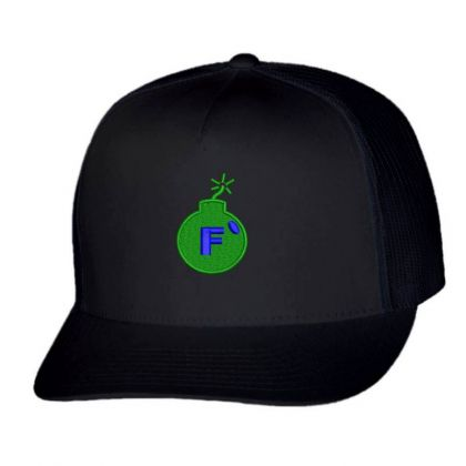 F * Embroidered Hat Trucker Cap Designed By Madhatter