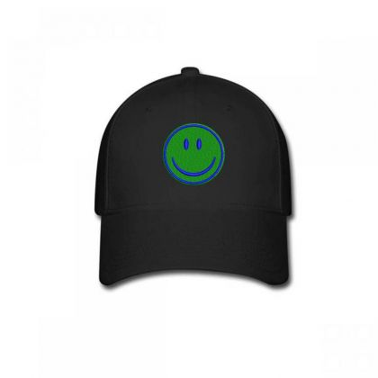 Smiley Face Embroidered Hat Baseball Cap Designed By Madhatter