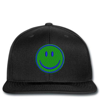 Smiley Face Embroidered Hat Snapback Designed By Madhatter