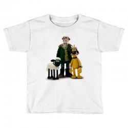 shaun the sheep Toddler T-shirt   Artistshot