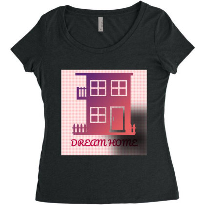 All New For You Women's Triblend Scoop T-shirt Designed By Sunil Kumar
