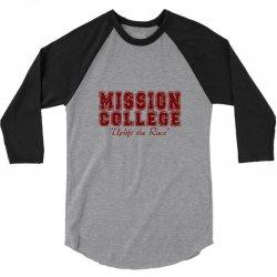 mission college maroon 3/4 Sleeve Shirt | Artistshot