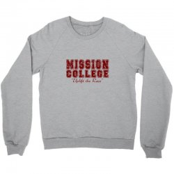 mission college maroon Crewneck Sweatshirt | Artistshot