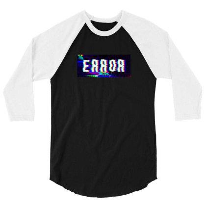 Error 3/4 Sleeve Shirt Designed By Awangsastrawan