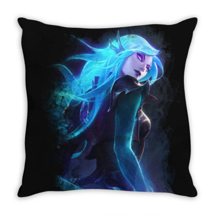 Katarina Death Sworn Throw Pillow Designed By Katsu