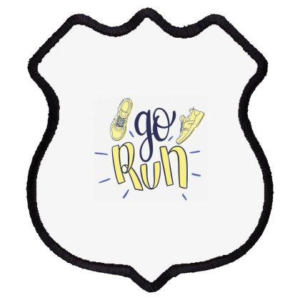 Go Run Shield Patch Designed By Estore