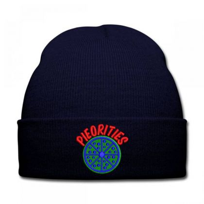 Pieorities Embroidered Hat Knit Cap Designed By Madhatter