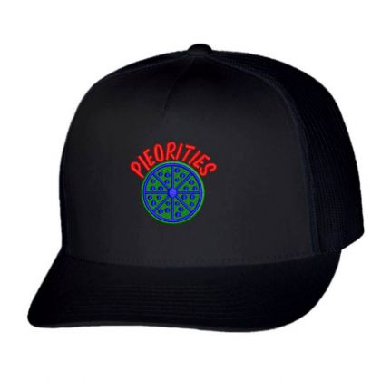 Pieorities Embroidered Hat Trucker Cap Designed By Madhatter