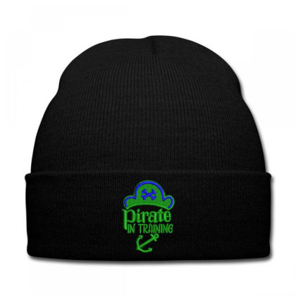 Pirate In Training Embroidered Hat Knit Cap Designed By Madhatter