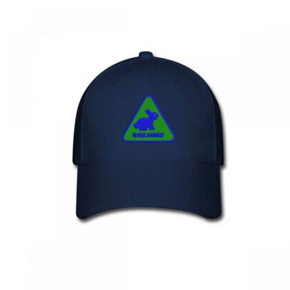 Run Away Embroidered Hat Baseball Cap Designed By Madhatter