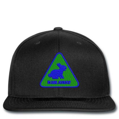 Run Away Embroidered Hat Snapback Designed By Madhatter