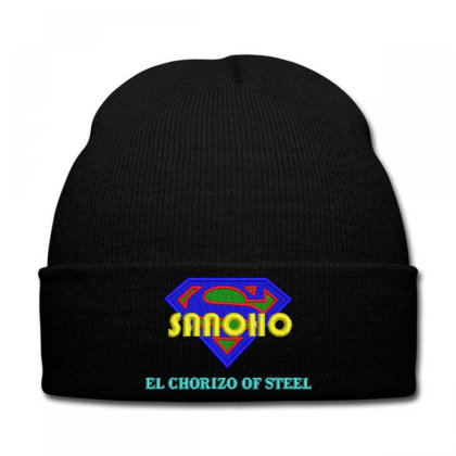 Sanoho Embroidered Hat Knit Cap Designed By Madhatter