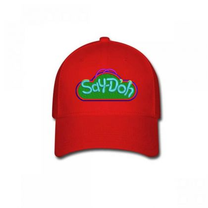 Say-doh Embroidered Hat Baseball Cap Designed By Madhatter
