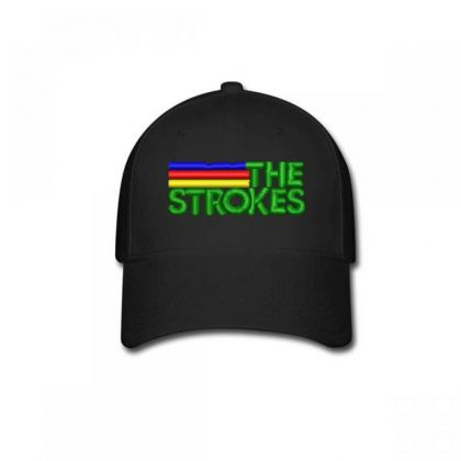The Strokes Embroidered Hat Baseball Cap Designed By Madhatter