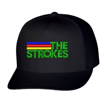 The Strokes Embroidered Hat Trucker Cap Designed By Madhatter