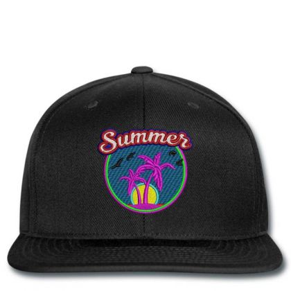 Summer Embroidered Hat Snapback Designed By Madhatter