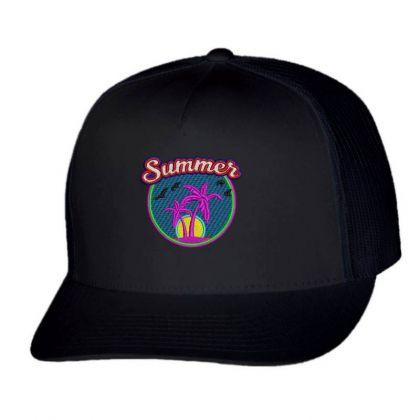 Summer Embroidered Hat Trucker Cap Designed By Madhatter