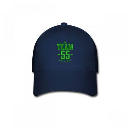 Team 55 Embroidered Hat Baseball Cap Designed By Madhatter