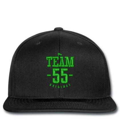 Team 55 Embroidered Hat Snapback Designed By Madhatter