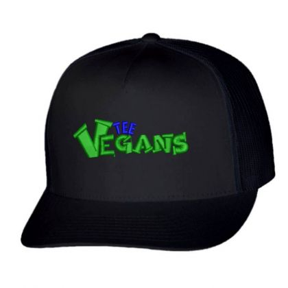 The Vegans Embroidered Hat Trucker Cap Designed By Madhatter