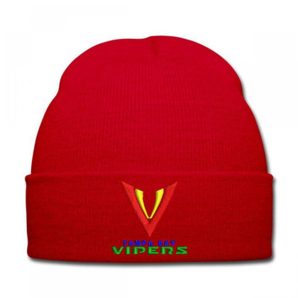 Vipers Embroidered Hat Knit Cap Designed By Madhatter