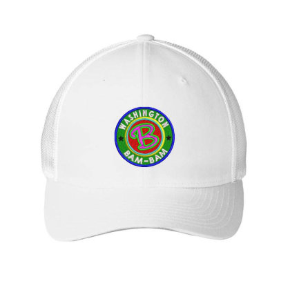 Washington Bam Bam Embroidered Hat Embroidered Mesh Cap Designed By Madhatter