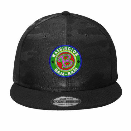 Washington Bam Bam Embroidered Hat Camo Snapback Designed By Madhatter