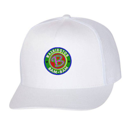 Washington Bam Bam Embroidered Hat Trucker Cap Designed By Madhatter