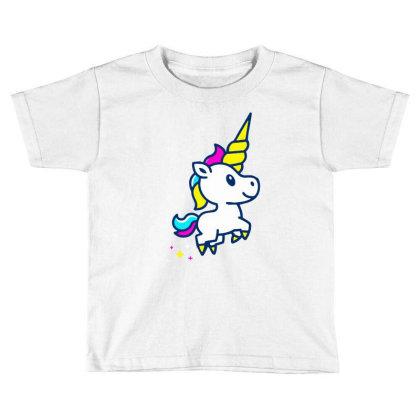 Unicorn Foal Toddler T-shirt Designed By Alaska Tees