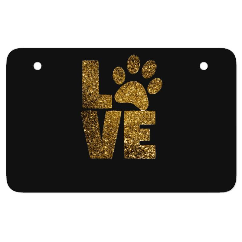 Animal Lover Atv License Plate | Artistshot