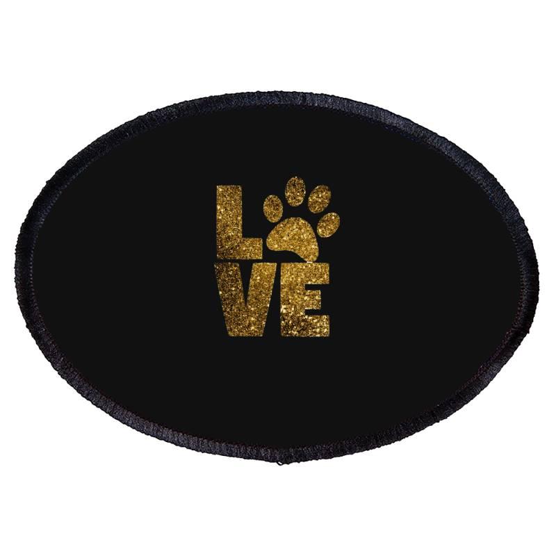 Animal Lover Oval Patch | Artistshot