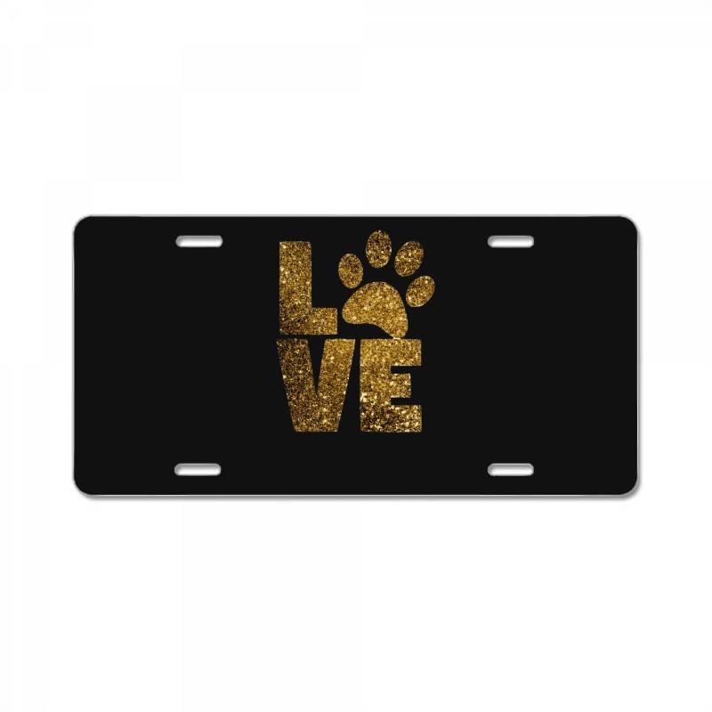 Animal Lover License Plate | Artistshot