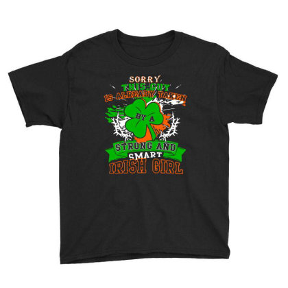 Taken By A Irish Girl Youth Tee Designed By Alaska Tees