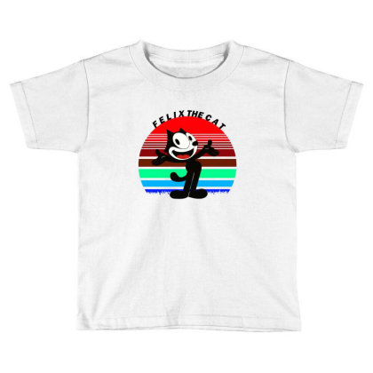 Felix The Cat Toddler T-shirt Designed By Cloudystars
